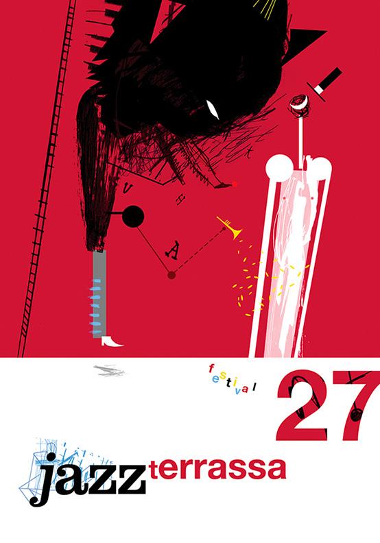 JAZZ TERRASSA FESTIVAL, poster.