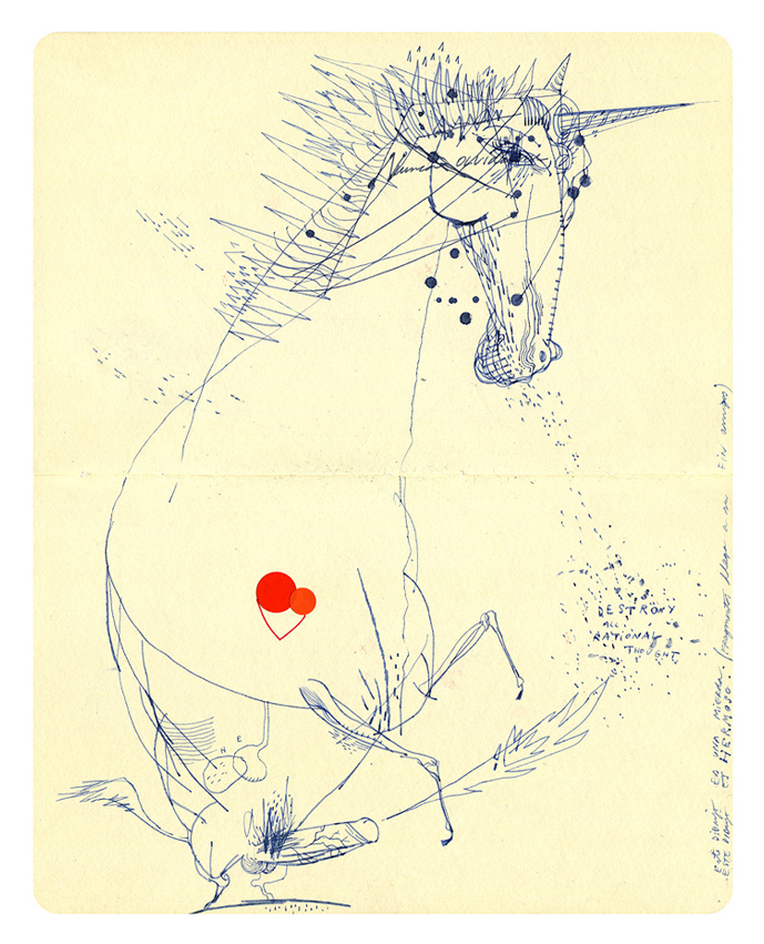 Unicorn, Personal Journal.